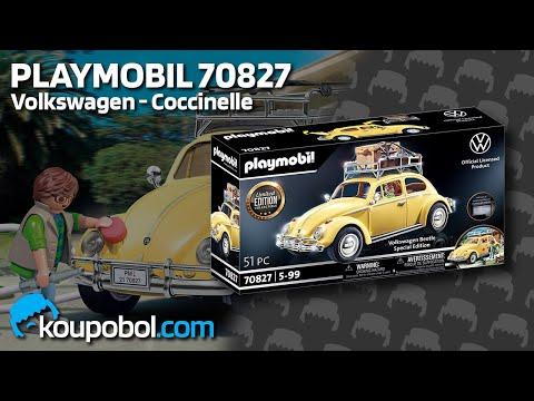 Vidéo PLAYMOBIL Volkswagen 70827 : Volkswagen Coccinelle - Édition spéciale