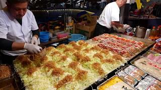 その場でファンが出来るお好み焼き屋さん 2018 職人芸 Street Food Japan Okonomiyaki