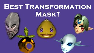 Best Transformation Mask in Majora's Mask