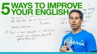 5 great ways to improve your English!