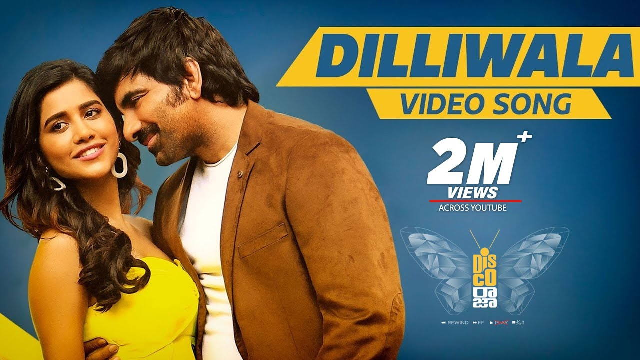 Dilliwala Full Video Song From Disco Raja