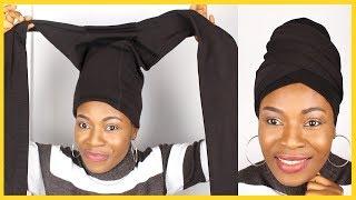 🔥Easiest Head Wrap / Turban Tutorial With Leggings //Detailed II No Cut, No Sew, No Pins, No Glue