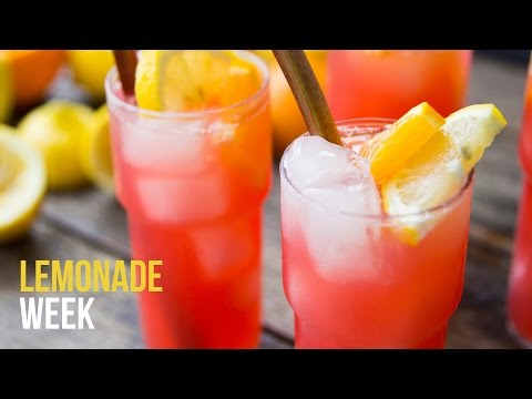 Video Rhubarb Lemonade | Lemonade Week