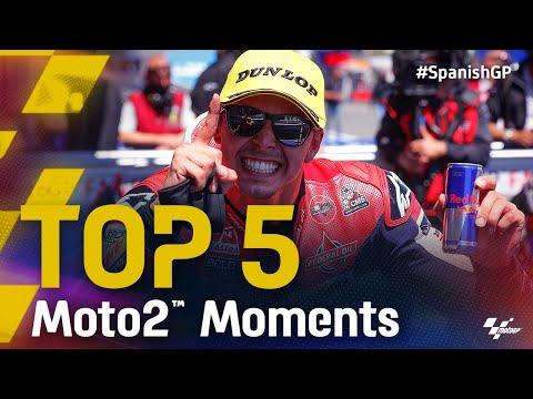 小椋藍は7位 Moto2 2021 第4戦スペインGP 決勝ハイライト動画