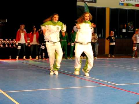 Duo Sam & Floor op het NK 2010 in Mill