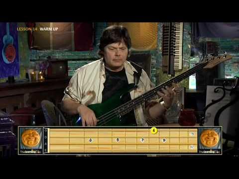 Bass Guitar Lessons - Advanced- Lesson 14 Clip 1