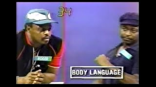 Body Language (August 10, 1984)