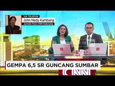 Gempa 6,5 SR Guncang Sumbar