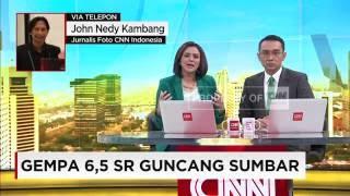 Gempa 65 SR Guncang Sumbar