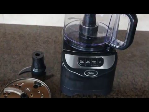 , Oster FPSTFP1355 2-Speed 10-Cup Food Processor, 500-watt