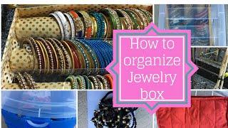 Jewelry Storage Ideas--Indian Jewels