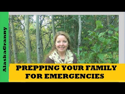 Prepping Your Family For Emergencies
