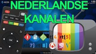 KODI - Gratis Nederlandse tv kijken!!!