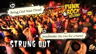 "#102 Strung Out ""Bring Out Your Dead"" + ""Soulmate"" (NUFAN) @ Punk Rock Holiday (10/08/2016) Tolmin"
