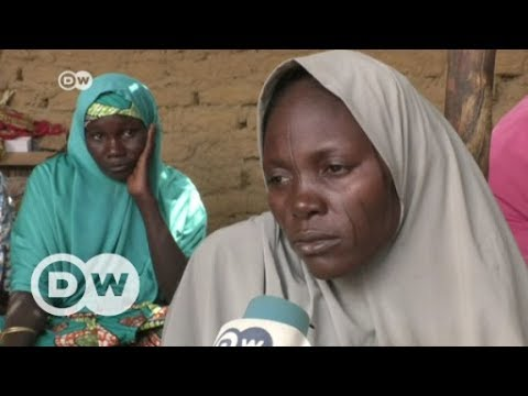 Nigerian village desperate for news of missing girls   DW English