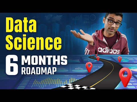 Step by step roadmap to learn data science in 6 months - YouTube