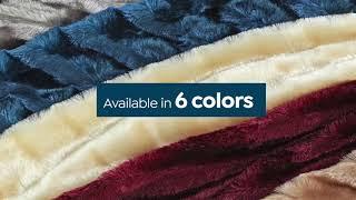Soft   Cozy Faux Fur Comforter Set