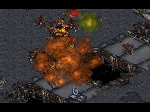 herO (Z) v Sharp (T) on Circuit Breakers - StarCraft  - Brood War REMASTERED
