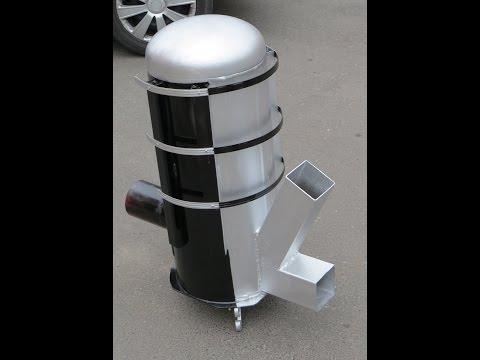 Piec rakietowy ANDRZEJ koza holzgas rocket stove heater