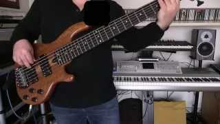 Bass Cover - Joe Jackson - Right And Wrong - with Wal bass Mk3