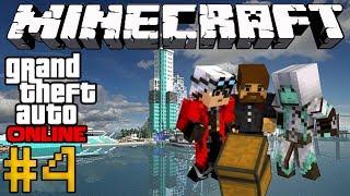 Minecraft GTA Online #4 - Пулеметы и дробовики