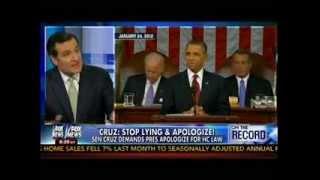 Cruz: Stop Lying & Apologize! - Sen Cruz Demands Prez Apologize For Hc Law -  On The Record