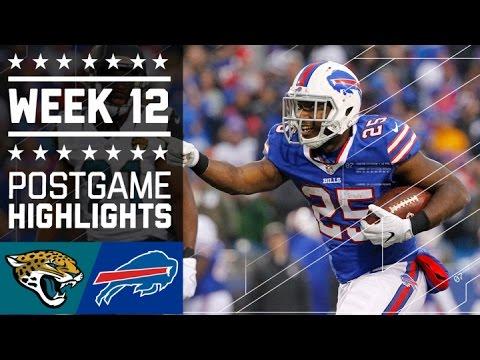 Jaguars vs. Bills | NFL Week 12 Game Highlights