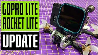 BetaFPV GoPro 6 Lite upgrade case // GEPRC Rocket Lite // Caddx Vista // Flight Footage