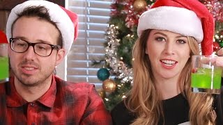 People Try Holiday Cocktails