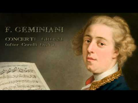F. Geminiani: Concerti Grossi after Corelli Op.V