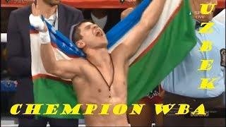 Шохжахон Эргашев WBA Чемпионлик Камари Соҳибига Айланди.