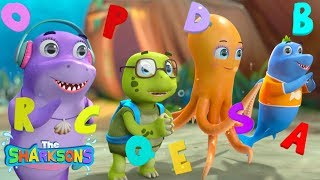 ABC Story Time! | Nursery Rhymes & Kids Songs! | Cartoons For Kids | The Sharksons