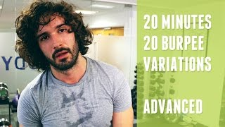 The Burpee Challenge | 20 Minutes 20 Different Burpees | The Body Coach by The Body Coach TV