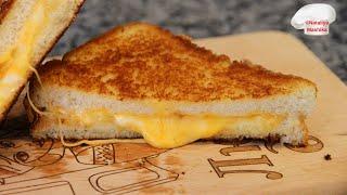 ЧТО ЕДЯТ КАНАДЦЫ на завтрак? Grilled Cheese Sandwich Ну оооочень вкусно!!!