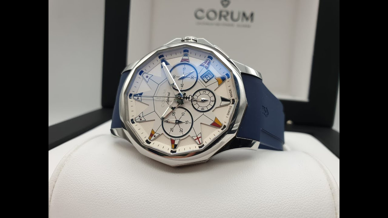 Corum Admiral's Cup Legend Chronograph 42 mm 984.101.20/F373 AA12