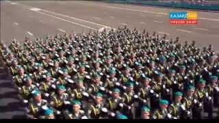Парад в Астане 2015