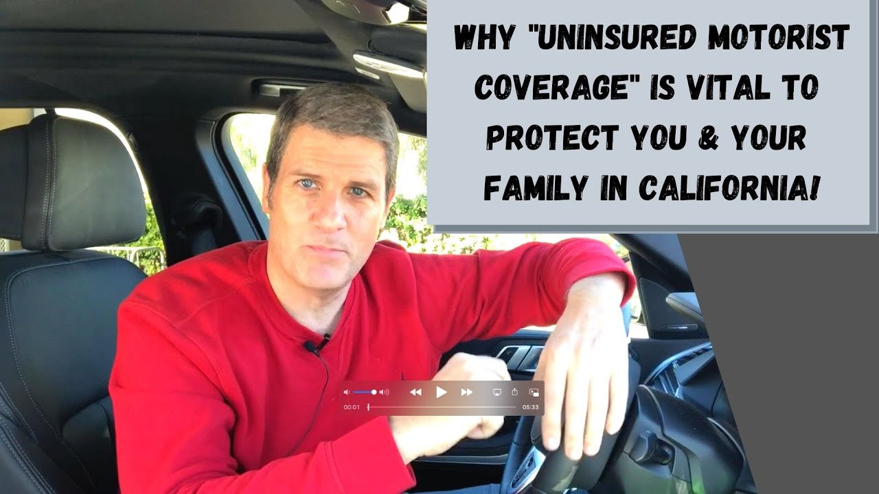 Why Uninsured Motorist Coverage is Extremely Important for You & Your Family in CA