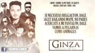 Ginza Remix Letra - J Balvin Ft Daddy Yankee, Farruko y Mas [Reggaeton 2015]
