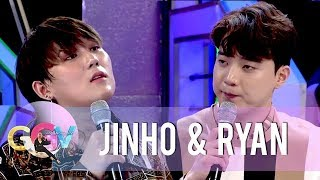 JinHo and Ryan reenact a Korean version of a scene from Four Sisters and a Wedding.  Subscribe to the ABS-CBN Entertainment channel! - http://bit.ly/ABSCBNOnline  Watch the full episodes of Gandang Gabi Vice on TFC.TV   http://bit.ly/GGV-TFCTV and on IWANT.TV for Philippine viewers, click: http://bit.ly/GGV-IWANTv  Watch your favorite Kapamilya shows LIVE! Book your tickets now at http://bit.ly/KTX-GandangGabiVice  Visit our official website!  http://entertainment.abs-cbn.com http://www.push.com.ph  Facebook: http://www.facebook.com/ABSCBNnetwork  Twitter:  https://twitter.com/ABSCBN https://twitter.com/abscbndotcom Instagram: http://instagram.com/abscbnonline  #GandangGabiVice #GGVOPPAkasaya  #GGV