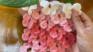 How To Crochet Flowers Stitch