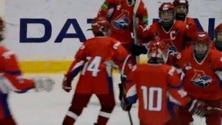 Локомотив - ХК Бобров (10:2); 3й период. Детский хоккей (2003 г.р.)