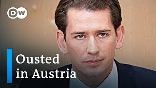Austrian Chancellor Sebastian Kurz Ousted In No-confidence Vote | DW News