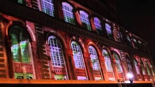 Ciclo de Olhares Luz e Sombra de São Paulo - Intervenção video mapping Agrupamento Andar7