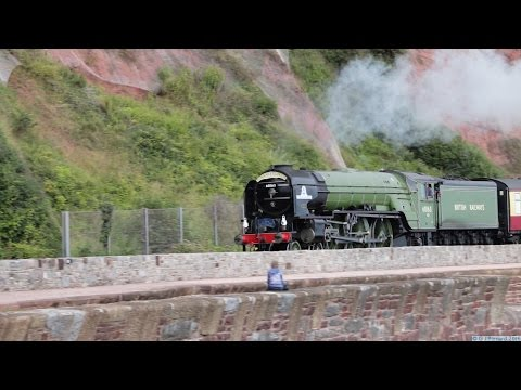 60163 'Tornado' on 'The Torbay Express' at Teignmouth 11th S…