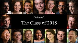 Voices of the Class of 2018