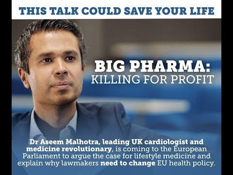 A talk by Aseem Malhotra to the European Parliament | Dr. Malcolm Kendrick