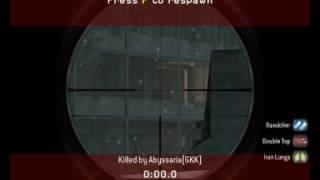 Call of Duty 4 - Good and Secret Sniper spots - DirectKill - Abyssaria - Sabaton - Attero Dominatus