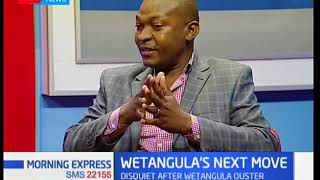 Wetangula's next move: Raila attempts to save Wetangula