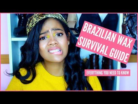 BRAZILIAN WAX SURVIVAL GUIDE! Advice, Tips & More!