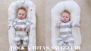 Dock-A-Tot or Snuggle me organic? My review on both these products!